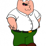 peter griffin dibujo